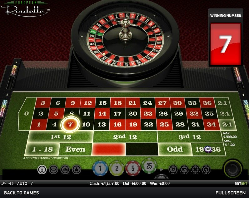 Find roulette Problemet