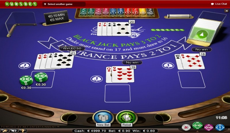 Blackjack bankroll - 489986