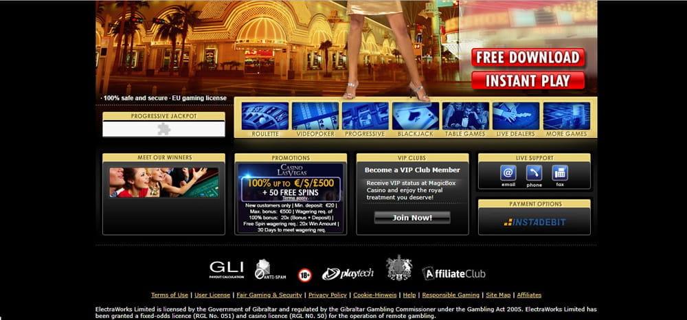 Online casino underlige