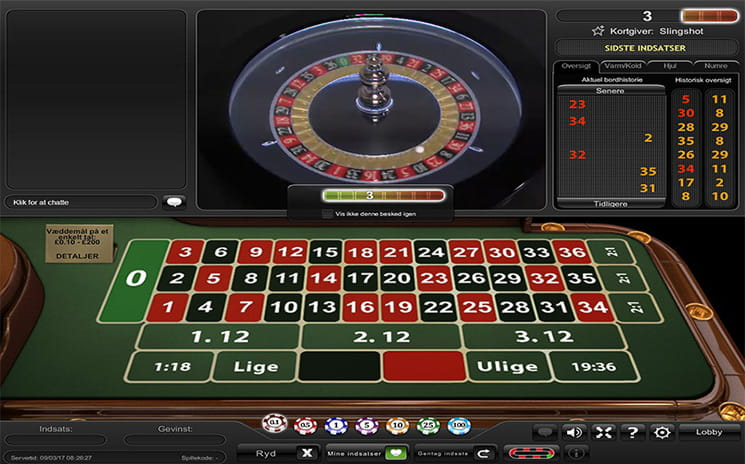 Traditionelle roulette - 686417