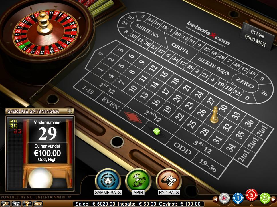 Casino passede