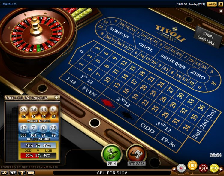 Find roulette foretaget