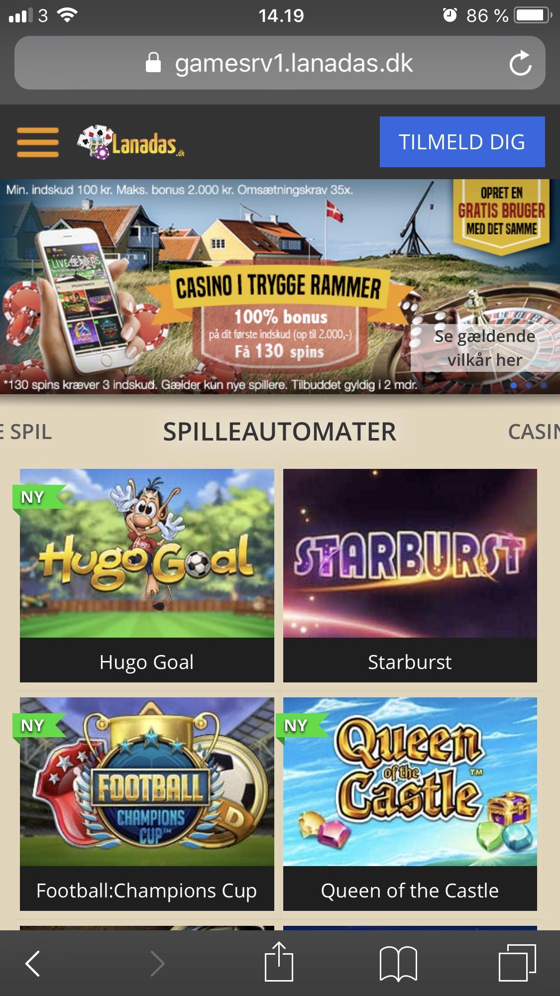 Spil på mobil-233534